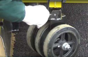 Swivel Rear Wheel