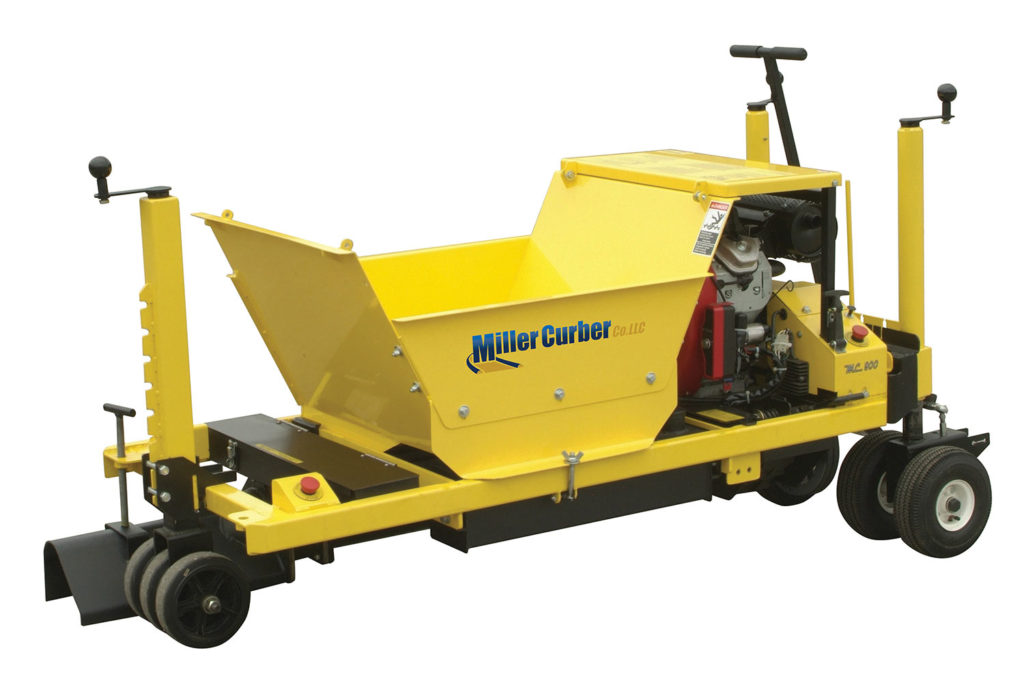 MC 900 - Commercial Curb Machine