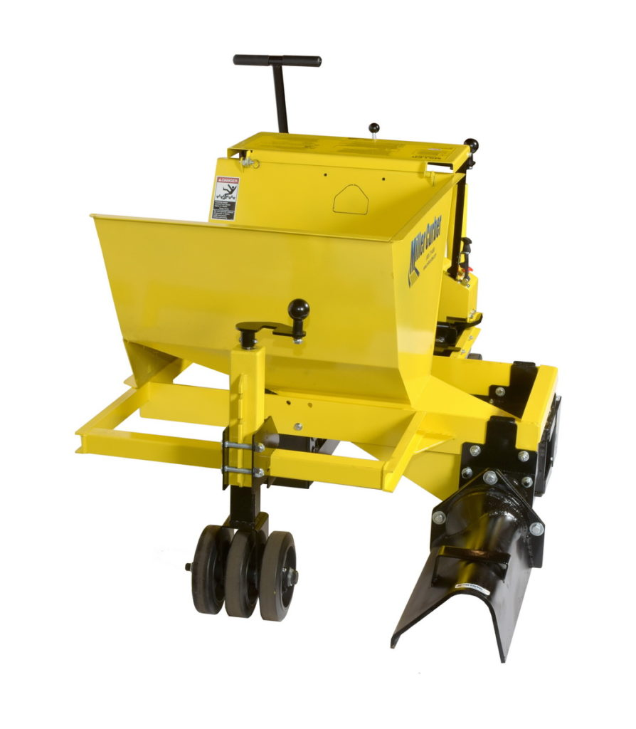 MC 655 - concrete curb machine