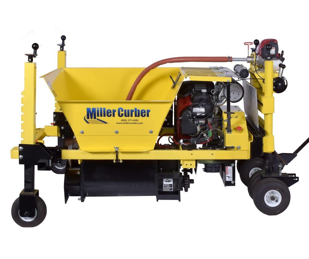Curb and Gutter Machine - Commercial Curb building machine