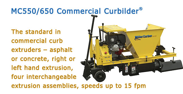 MC550/650 Commercial Curbilder®