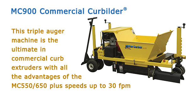 MC900 Commercial Curbilder®